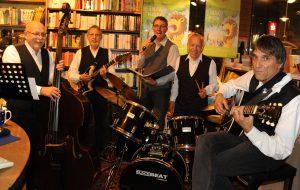 "Die Krimi-Jazzer im ""Thater-Theater"" am 05.11.2015 Foto: Siegfried Malinowski"